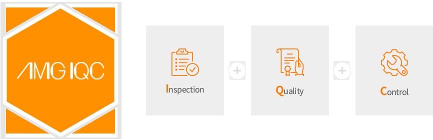 에이엠지아이큐씨=inspection+quality+control